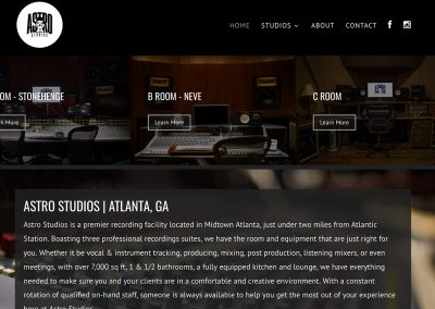 Astro Studios 2 Kyle Troop Web Design