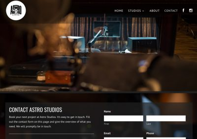 Astro Studios 4 Kyle Troop Web Design