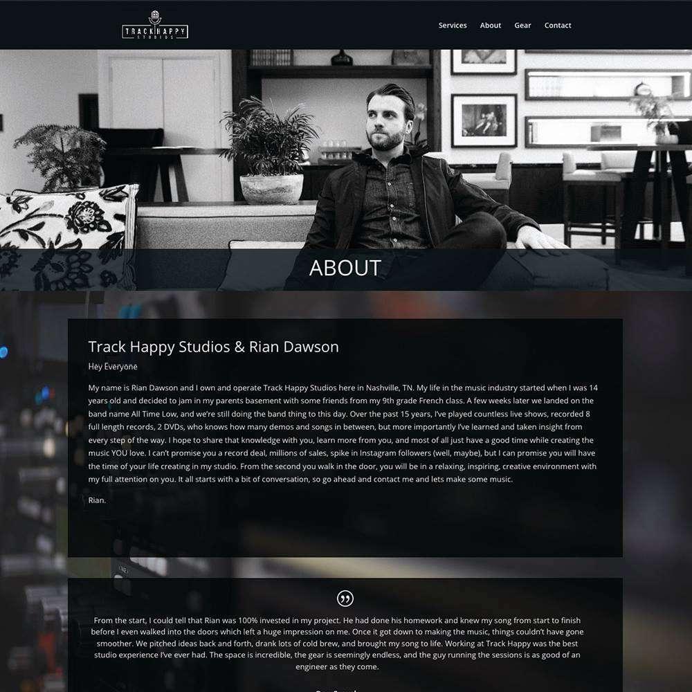 Track Happy Studios About Rian Dawson