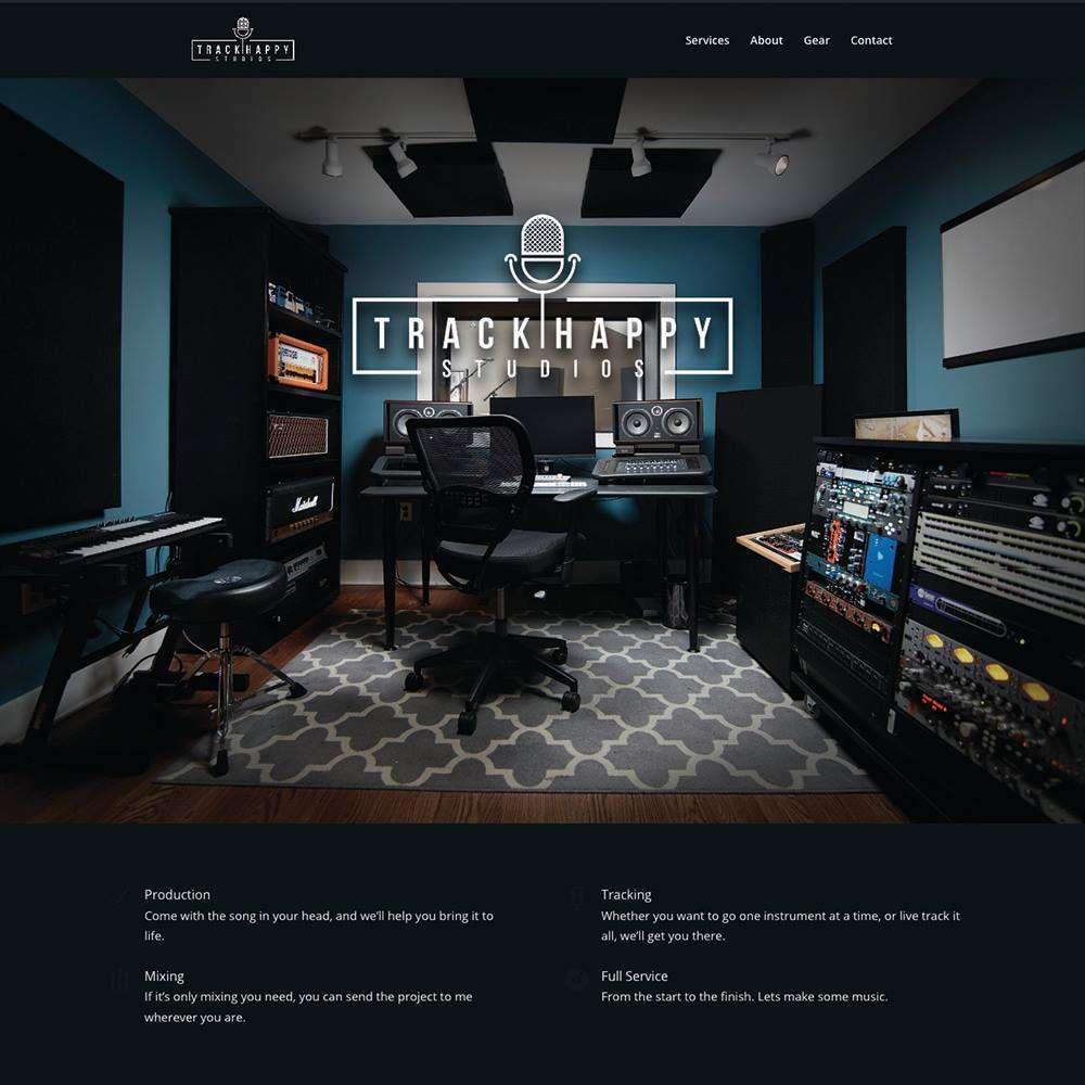 Track Happy Studios Rian Dawson Home