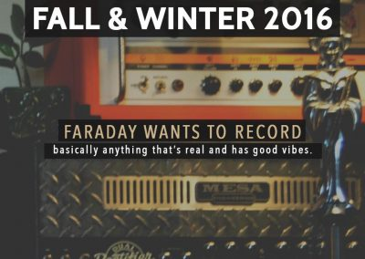 Faraday Recordings - Promo